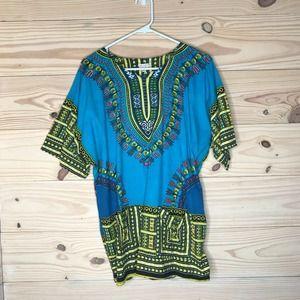 Funky People Dashki African Style Tunic Top S